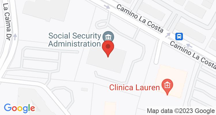 Austin, TX Social Security Office Map