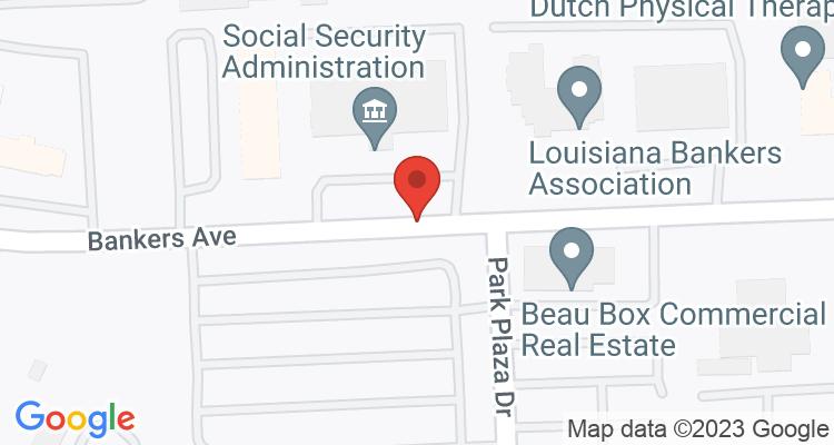 Baton Rouge, LA Social Security Office Map
