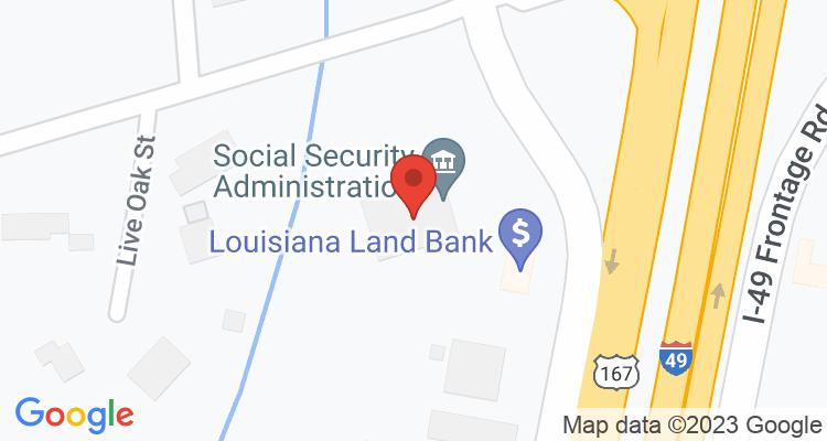 Opelousas, LA Social Security Office Map