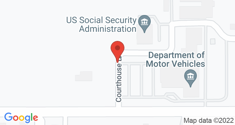 Fairhope, AL Social Security Office Map