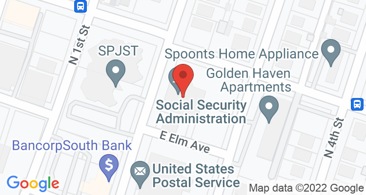 Temple, TX Social Security Office Map