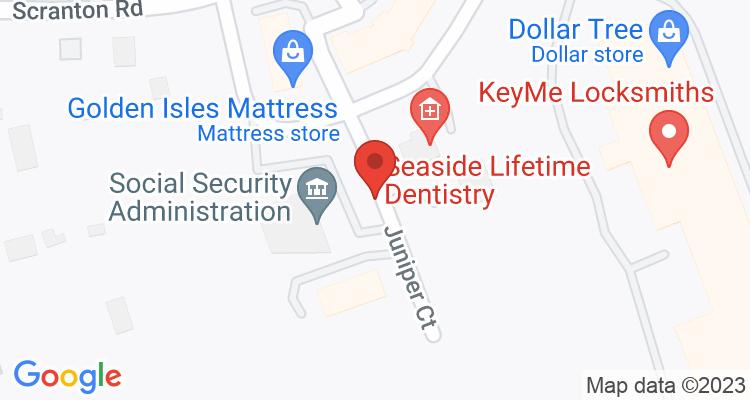 Brunswick, GA Social Security Office Map