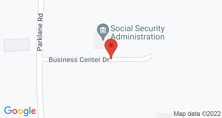 Mc Comb, MS Social Security Office Map