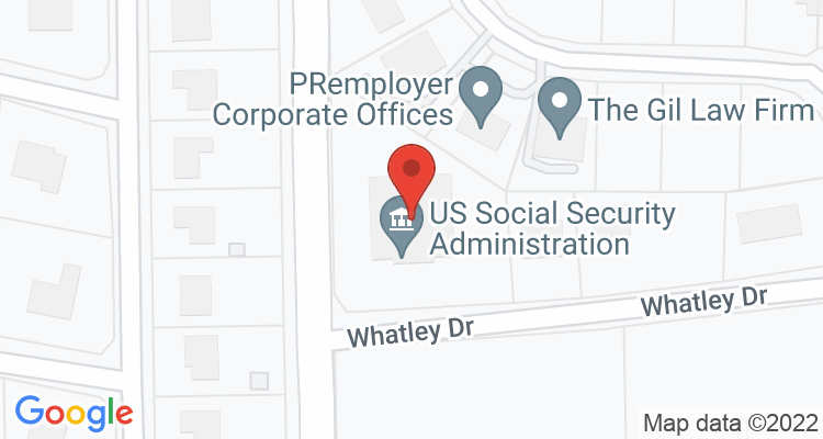 Dothan, AL Social Security Office Map