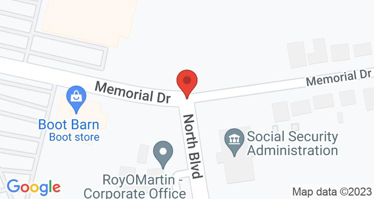 Alexandria, LA Social Security Office Map