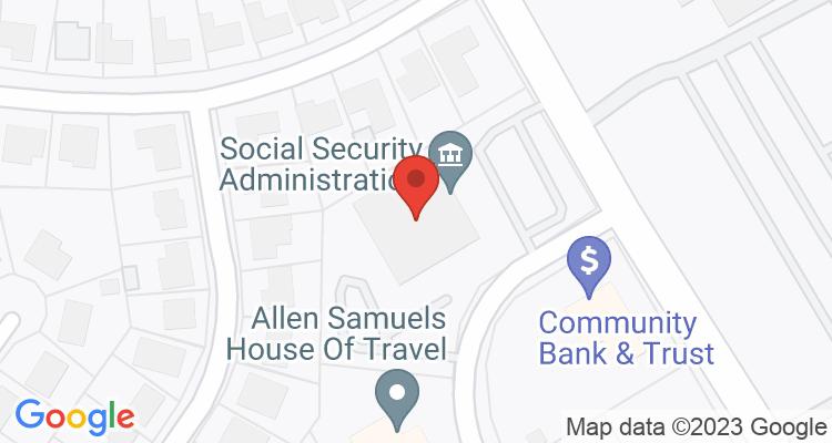 Waco, TX Social Security Office Map