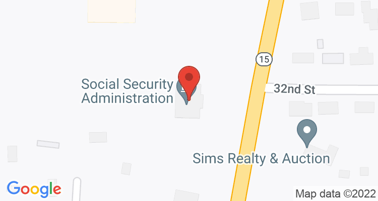 Laurel, MS Social Security Office Map