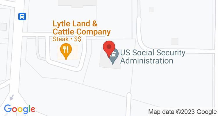 Abilene, TX Social Security Office Map