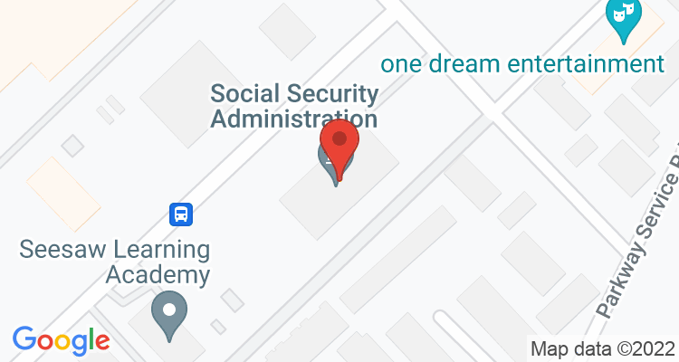 Shreveport, LA Social Security Office Map