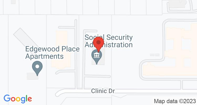 Longview, TX Social Security Office Map