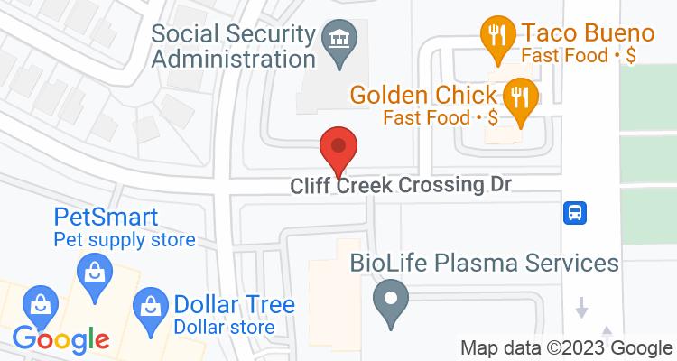 Dallas, TX Social Security Office Map