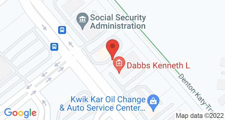 Denton, TX Social Security Office Map