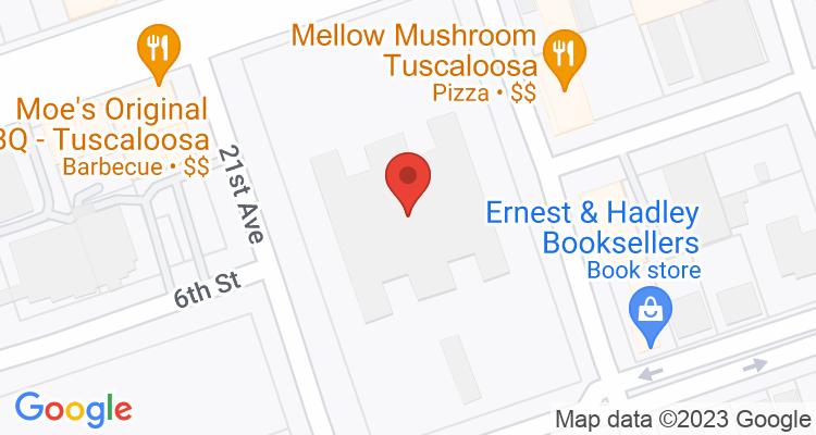 Tuscaloosa, AL Social Security Office Map