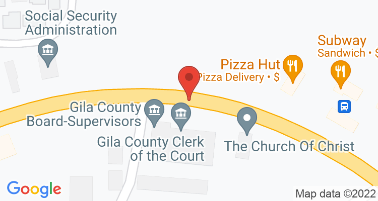 Globe, AZ Social Security Office Map
