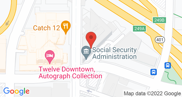 Atlanta, GA Social Security Office Map