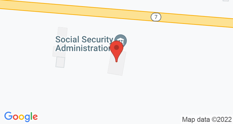 Grenada, MS Social Security Office Map