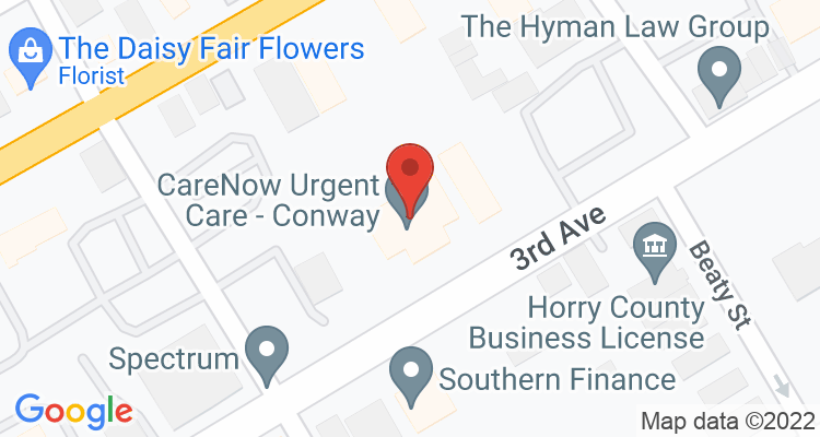 Conway, SC Social Security Office Map