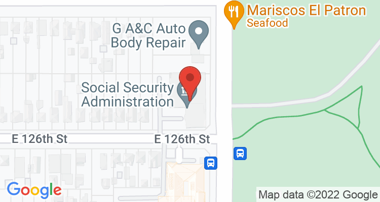 Los Angeles, CA Social Security Office Map