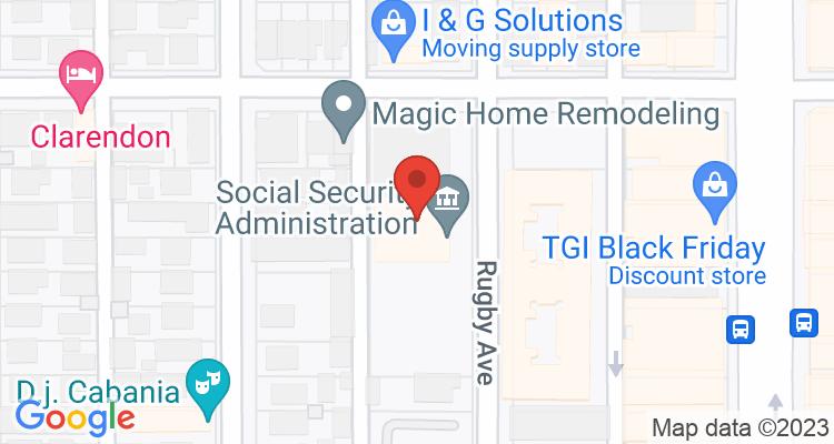 Huntington Park, CA Social Security Office Map
