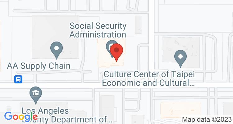 El Monte, CA Social Security Office Map
