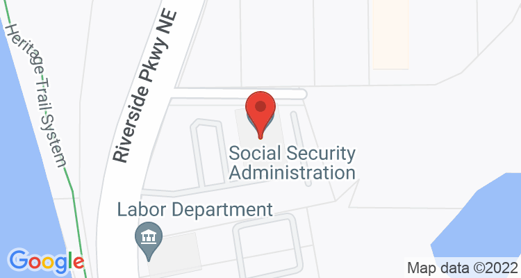 Rome, GA Social Security Office Map