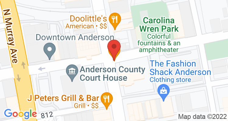 Anderson, SC Social Security Office Map