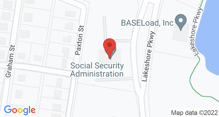 Rock Hill, SC Social Security Office Map