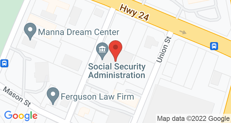 Fayetteville, NC Social Security Office Map