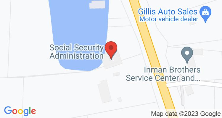 Selmer, TN Social Security Office Map
