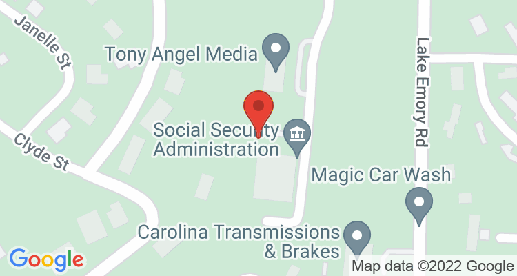 Franklin, NC Social Security Office Map