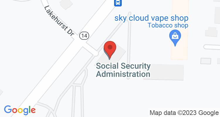 Memphis, TN Social Security Office Map