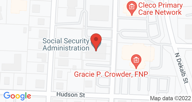 Shelby, NC Social Security Office Map