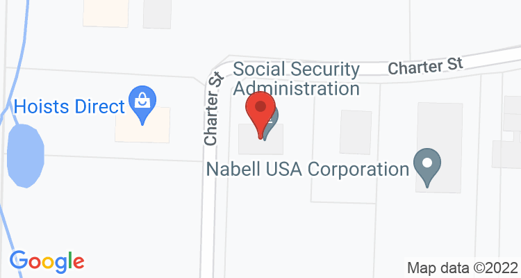 Albemarle, NC Social Security Office Map