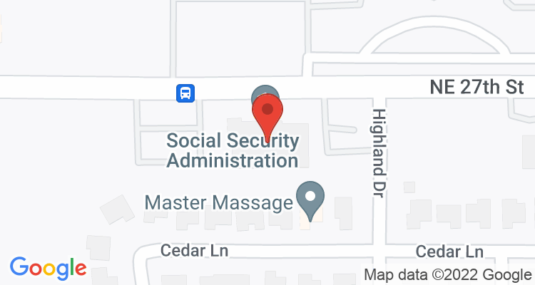 Moore, OK Social Security Office Map