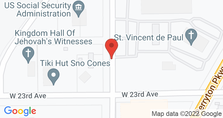 Pampa, TX Social Security Office Map