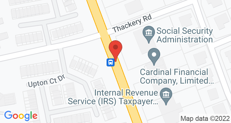 Greenville, NC Social Security Office Map