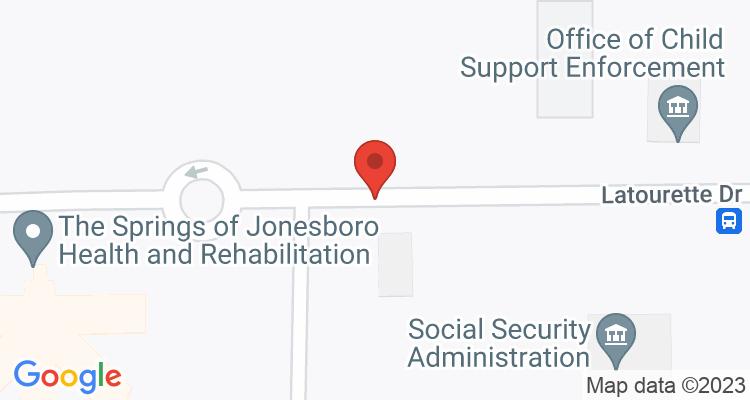 Jonesboro, AR Social Security Office Map