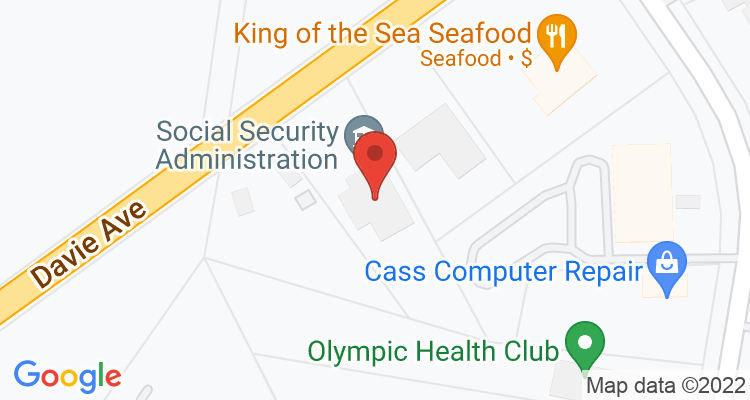 Statesville, NC Social Security Office Map
