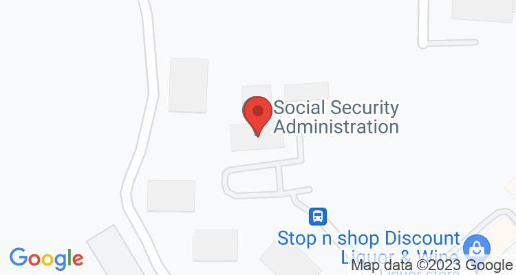 Murfreesboro, TN Social Security Office Map