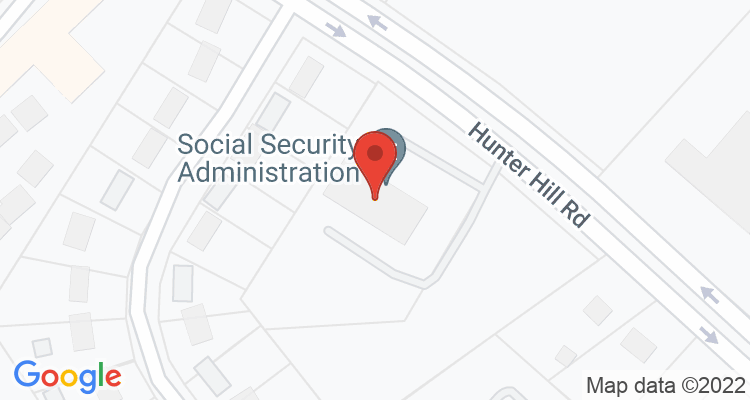 Rocky Mount, NC Social Security Office Map