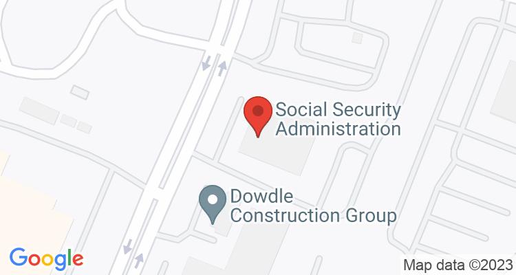 Nashville, TN Social Security Office Map