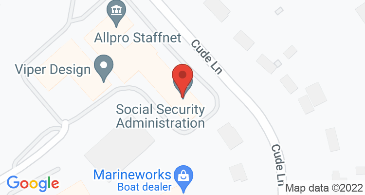 Madison, TN Social Security Office Map