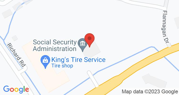 Bristol, VA Social Security Office Map