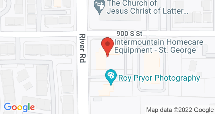 Saint George, UT Social Security Office Map