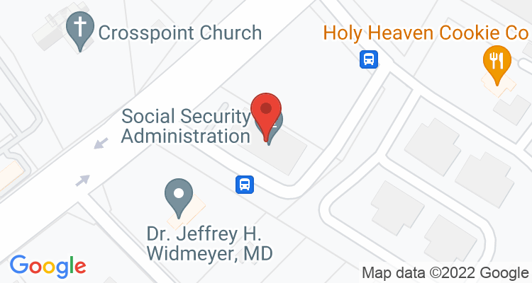 Lynchburg, VA Social Security Office Map