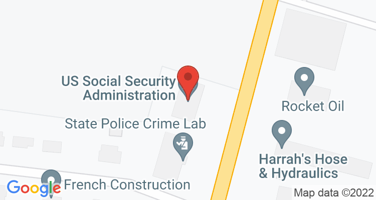 Madisonville, KY Social Security Office Map