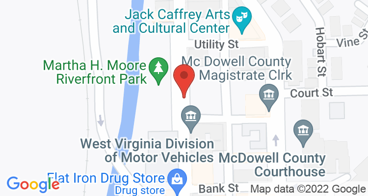 Welch, WV Social Security Office Map