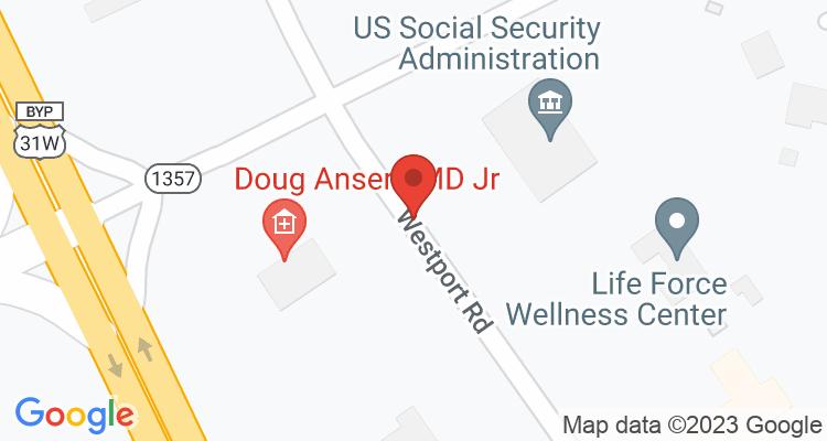 Elizabethtown, KY Social Security Office Map