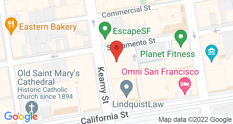San Francisco, CA Social Security Office Map