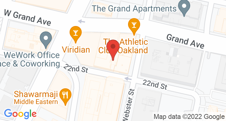 Oakland, CA Social Security Office Map